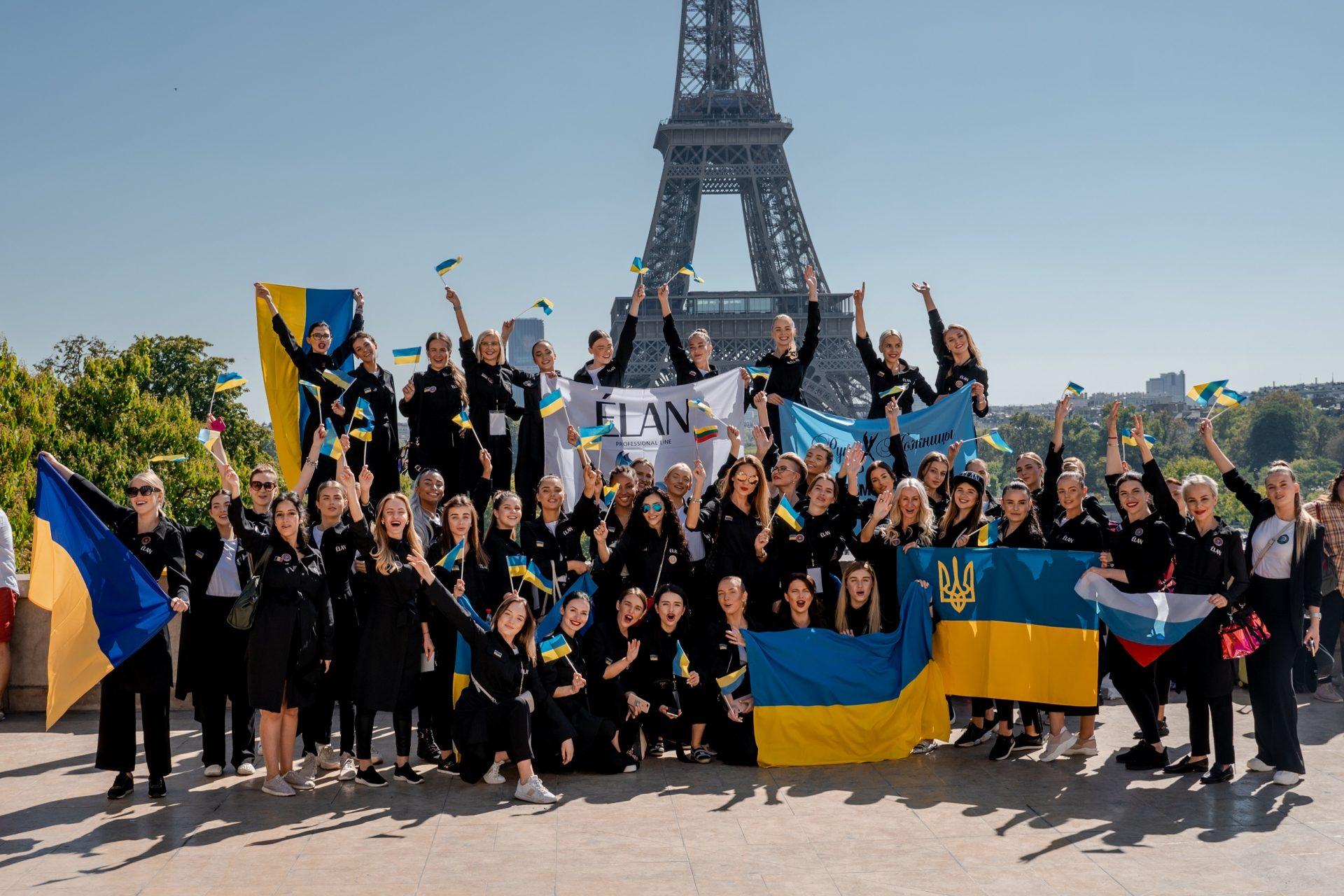 Визажисты и бровисты сети «Руки-Ножницы» стали лучшими на Чемпионате мира OMC HairWorld в Париже