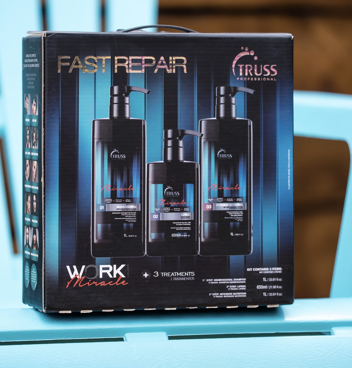 Процедура «мгновенного» восстановления волос TRUSS Fast Repair